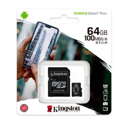 Memoria Micro-SD Kingston, 64GB