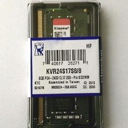 Memoria Kingston para laptop KVR24S17S8/8, 8GB, DDR4, 2400