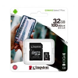 Memoria Micro-SD Kingston, 32GB